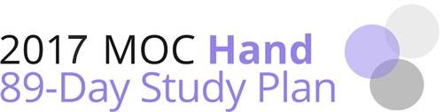 2016 MOC Hand Study Plan logo