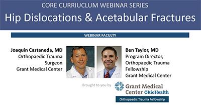 Core Curriculum Webinar Series - Anatomy - Orthobullets