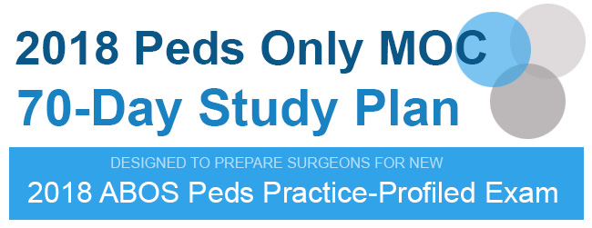 2018 Peds Only Moc 70 Day Study Plan Anatomy Orthobullets
